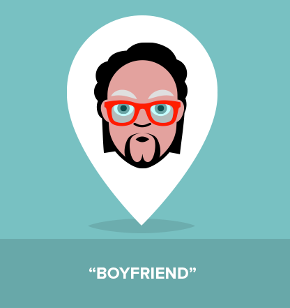 """A guy that tends to self proclamate himself as """"boyfriend""""."""