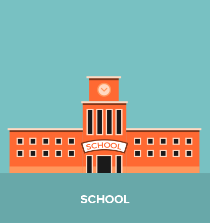 This is your school. At least, it should be …