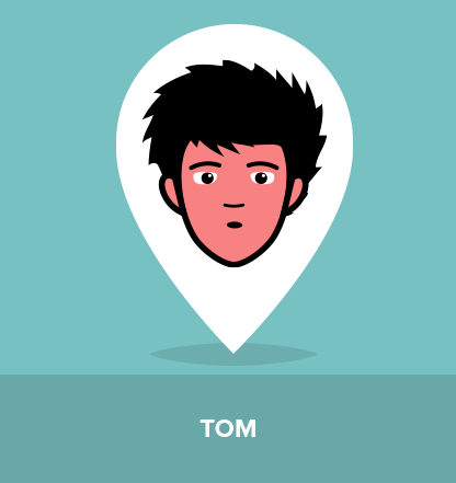 Tom is one of the best friends